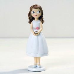 Figura para tarta Comunión niña