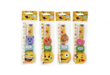 Set 5 PCS Emoticonos
