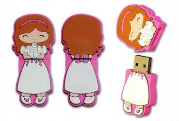 Memoria USB niña comunión